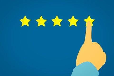 Five Stars (via Pixabay)
